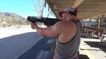 Bradley Martyn(布拉德利·马丁)220期【体验DP-12猎枪射击】