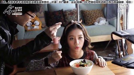 【中字】Girls day惠利--农心小浣熊 广告拍摄花絮<惠利尽展撒娇魅力>