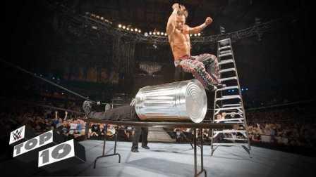 WWE摔跤狂热赛十大高燃时刻