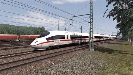 模拟火车2016 德国高铁Ingolstadt - Nürnberg ICE3试玩