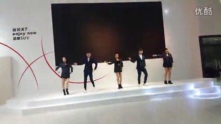 宁波国际车展 陆风展区(美女帅哥舞蹈表演场景!)地址:国际会展中心 2016