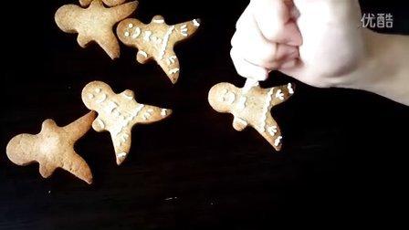 【丹妮小百科】圣诞节小红人~姜饼君的做法