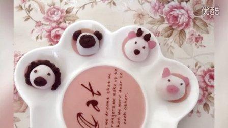 【鲜柠檬片ミ】日本食玩之糯米动物头像软糖(。・`ω´・)20
