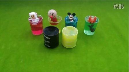 橡皮水晶泥 放屁泥玩具 沙皮胶 喜羊羊 面包超人 米老鼠 创意玩具