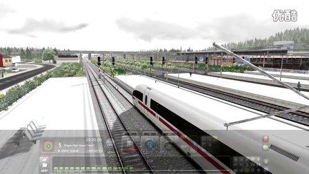 模拟火车2016 免费线路 Felberpass-高速线-300km试玩