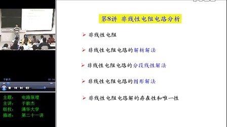 电路原理教学-第8讲-非线性电阻电路分析