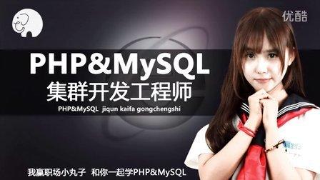 php&MySQL集群开发第1节