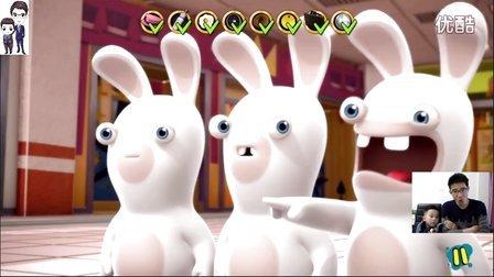 疯狂的兔子:戳戳乐(疯兔入侵)第14集:疯狂的兔子说茄子★搞笑动画视频游戏