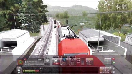 模拟火车2016 Felberpass 普速线试玩