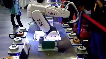 机器人夹爪自动循环爪库 机器人夹爪自动换取系统