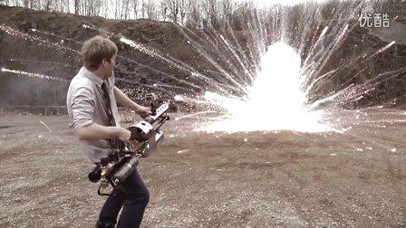【冯导】国外牛人打造超级蒸汽榴弹烟花发射器
