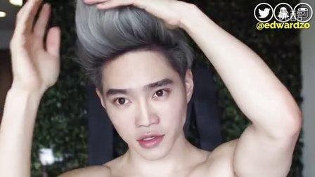 【StylePlus】奶奶灰发型 男生做银灰色渐变造型也好好看 变身KPOP明星发色