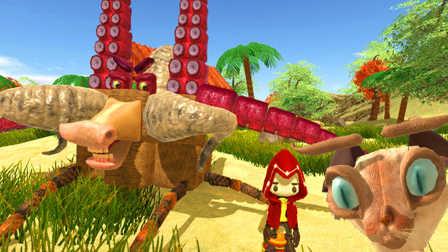 【屌德斯解说】 怪兽制造者CHKN 正式版更新了好多东西,我骑着一只怪物猫探索世界