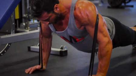 胸肌二头肌超级组训练带来的强烈泵感