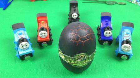 托马斯和他的朋友们 托马斯火车头 玩转 恐龙蛋 恐龙当家 266