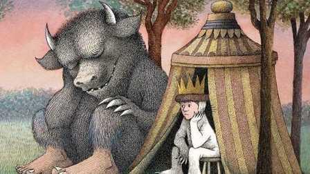儿童绘本中的圣经《野兽国》50周年纪念版 凯迪克金奖 儿童读物