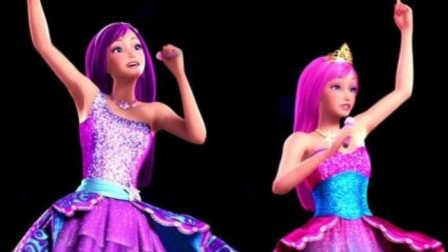 芭比之梦想豪宅第2集芭比做蛋糕 芭比公主白雪公主美人鱼小公主苏菲亚亲子益智游戏筱白