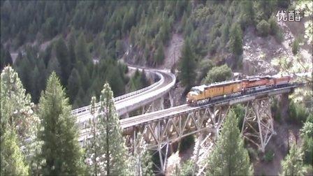 美国孔雀河谷铁路实景(已做成模拟火车线路)