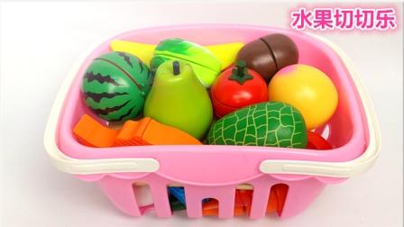 大雄的玩具世界 2016 粉红水果篮 水果蔬菜切切乐 水果蔬菜切切乐