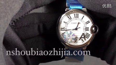 手表之家 CARTIER卡地亚蓝气球系列V6厂女士机械手表 36MM