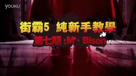 【Abang阿帮】街霸5 纯新手教学第七期M.BISON
