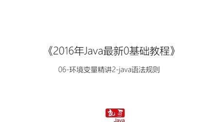 Java语言从入门到精通学习教程第六节-Java环境变量讲解02