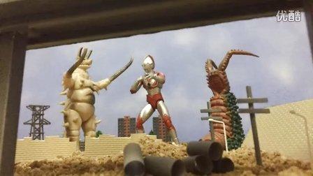 杰克奥特曼定格动画《两大怪兽袭击东京》【FinalZero零剧场】