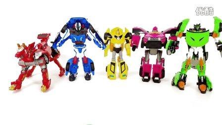 各种变形金刚系列的汽车玩具 水晶黏土玩具总动员