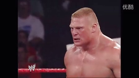 WWE RAW 20020722 Brock Lesnar vs. Tommy Dreamer 新加坡竹条赛