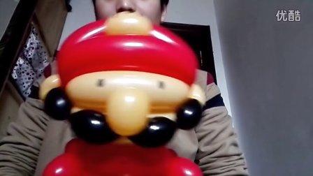 街卖气球搞着玩(马里奥手拿棒)