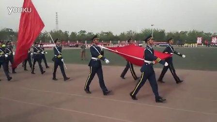 郑州航空工业管理学院2016年春季运动会方阵