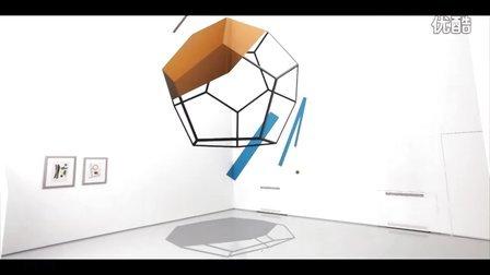 意大利墙绘工作室立体空间内打造抽象壁画·形状篇