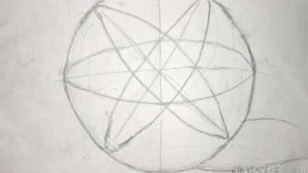 零基础新手自学素描如何画好素描圆的形体介绍_素描入门基础圆的结构素描画法