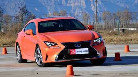 ams车评网 威sir测试场 雷克萨斯RC 200t  专业测试视频