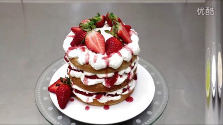 DIY美食:零功底也可以玩转草莓奶油生日蛋糕