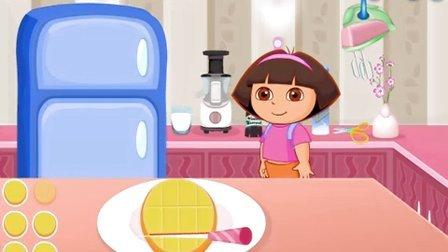 朵拉历险记动画片中文版 朵拉爱探险中文版高清 朵拉的芒果芝士蛋糕
