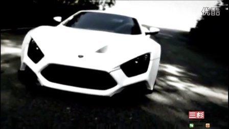 罕见!ab丹麦超跑 - Zenvo ST1,官方视频