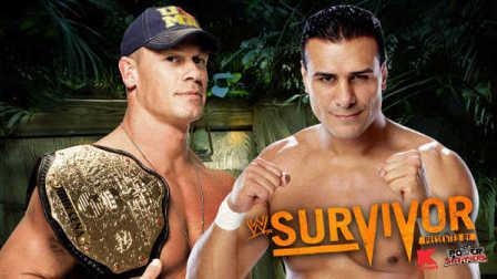 WWE13年强者生存 Alberto Del Rio vs. John Cena 中文超清
