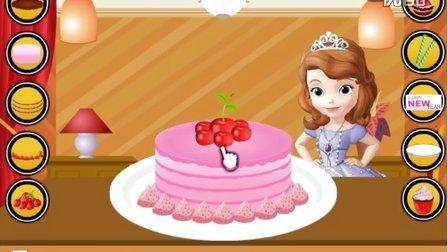 索菲亚公主动画片 索菲亚公主 索菲亚蛋糕制作