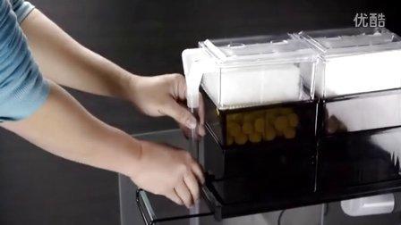 滴流盒鱼缸顶部过滤器鱼缸上置过滤器鱼缸过滤器水族箱滤槽安装步骤教程百赞牌