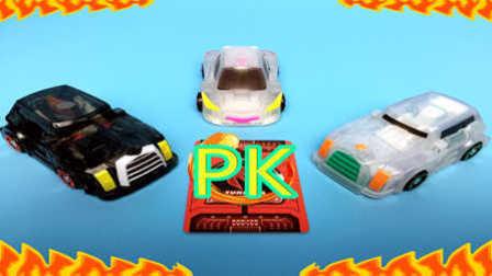 【魔力玩具学校】悍角黄牛PK勇武猛犸 情敌魔幻车神精彩对决展示赛 (8) 第一二三季新款自动变形玩具车机器人爆裂飞车
