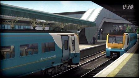 模拟火车2016 新线路South Wales Coastal Route试玩