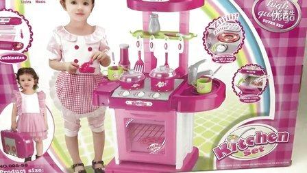 百变厨房套餐 厨房过家家玩具 拆箱组装 小猪佩奇 哆啦A梦