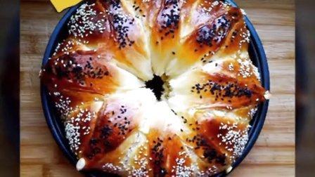 皇冠��花朵面包