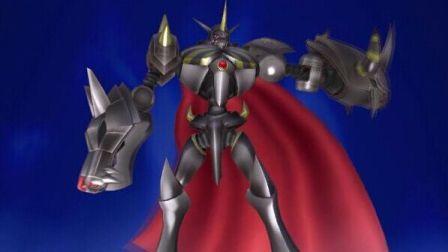 小峰解说【PS4 数码宝贝:赛博侦探】实况解说视频33 皇家骑士