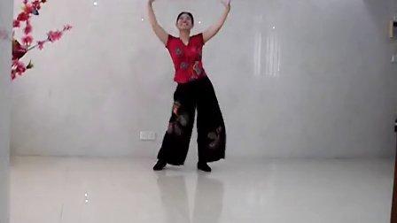 绿叶子广场舞 快乐的跳吧(原创)口令教学分解及正背面演示