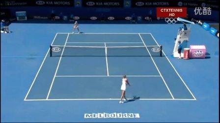 2008澳大利亚网球公开赛女单QF 汉图科娃VS拉德万斯卡 (自制HL)