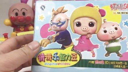猪猪侠之变身战队 3D智力拼图 铁拳虎 中国食玩 面包超人 小猪佩奇 超级飞侠 乐迪 哆啦A梦