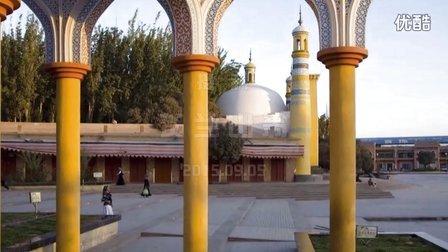 喀什记行 艾提尕尔清真寺 穆斯林心目中的中国麦加