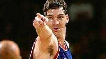 NBA大恶棍兰比尔打架冲突集锦(vs乔丹、大鸟、魔术师、巴克利、帕里什)